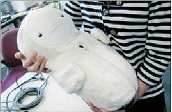 可爱的机器人Babyloid图片