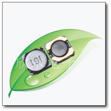 屏蔽电感4D28实物图片