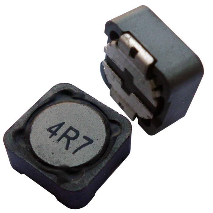 cdrh1205大功率屏蔽电感实物图片