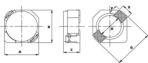 贴片功率电感封装