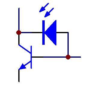 电三极管等效图