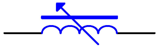 微调电感电路符号