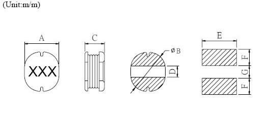 贴片功率电感封装图片